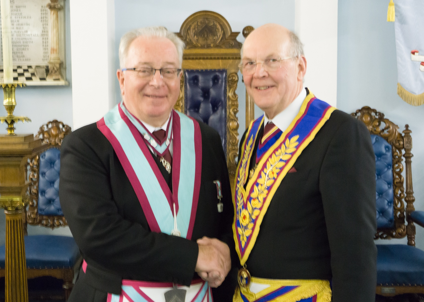 Gothic Lodge of MMM No 1018 welcomes Bro Ian Wright as it's WM for the ensuing year.