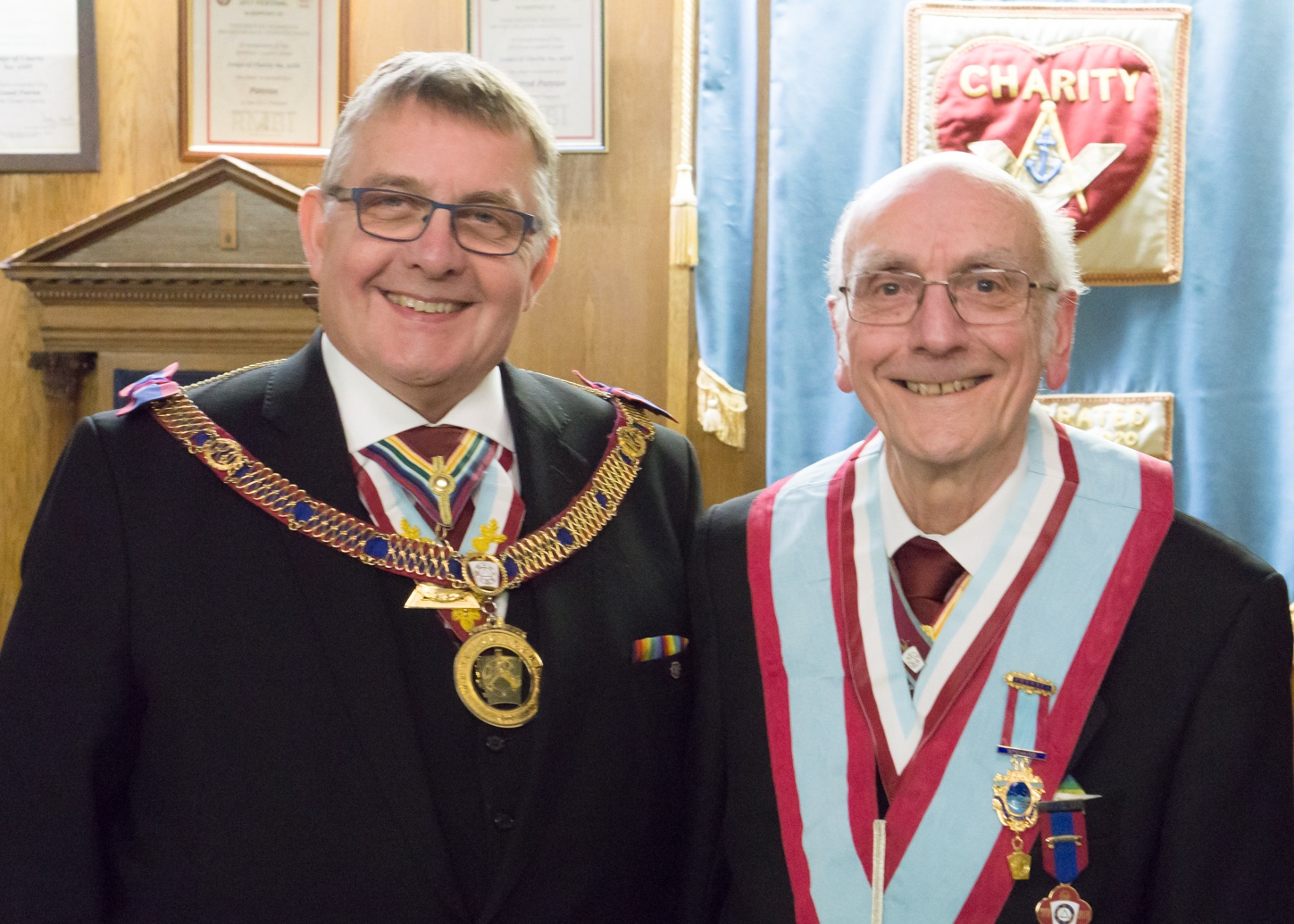 Experience Installed for another Year at Aries Lodge of Mark Master Masons No.669.
