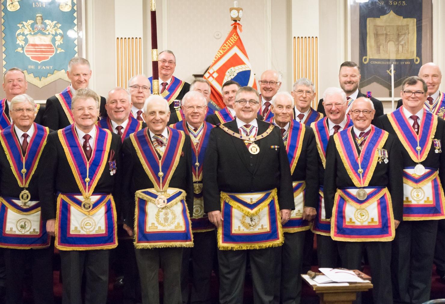 Escorted Visit to Prince Edward Lodge of Mark Master Masons No.14