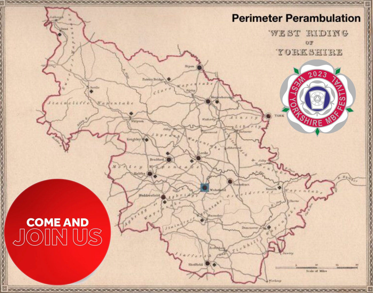 Perimeter Perambulation Route and Joining Instructions