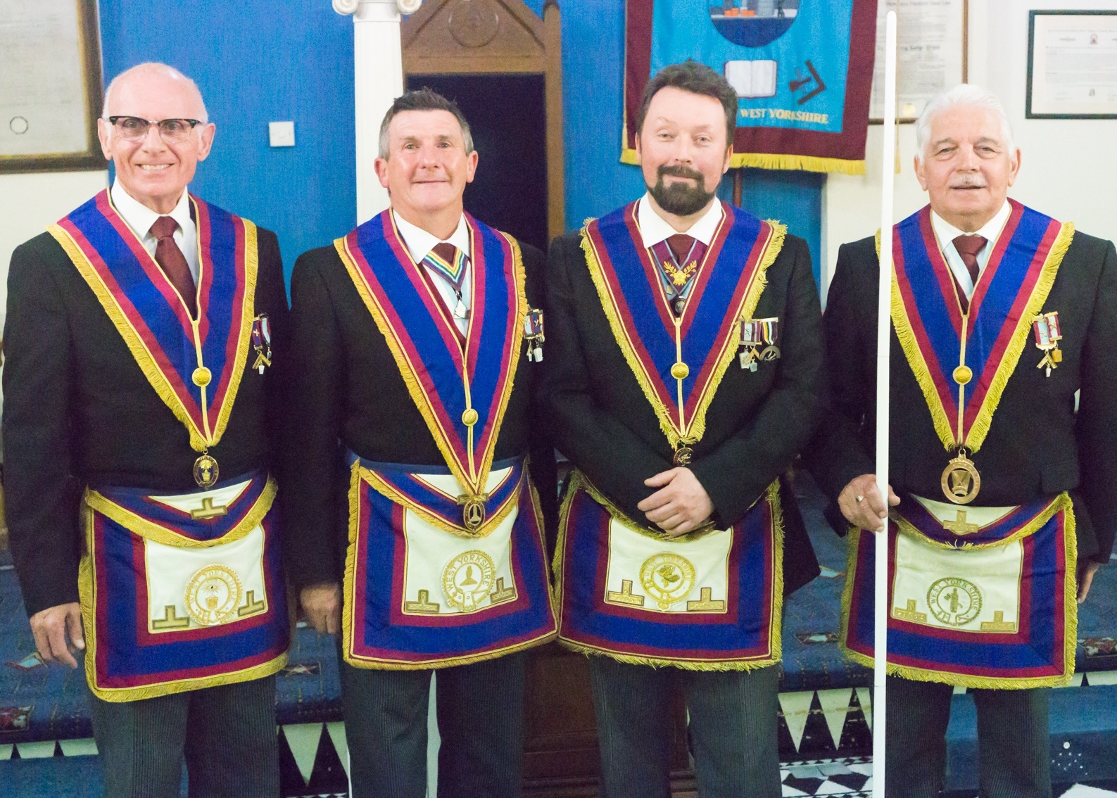 Success breeds Success at Aireferry Lodge of Mark Master Masons No.1769, Installation meeting May 2019.