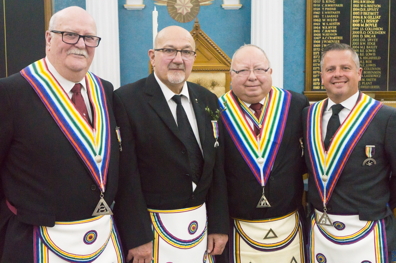 What a lovely way to spend an evening, Thorne Lodge of R.A.M. No.1004