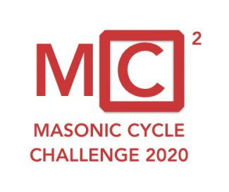 Mark Masons Hall Publicises our Masonic Cycle Challenge