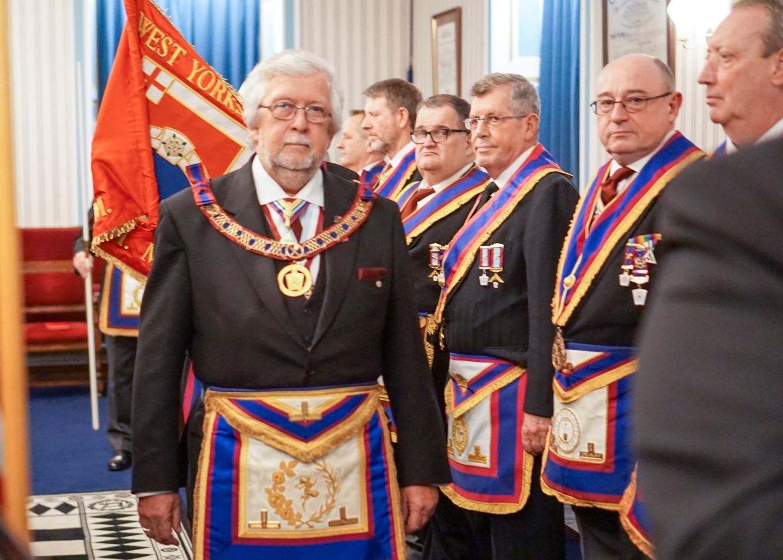 Wharfedale Lodge of Mark Master Masons No. 1027, Escorted Visit
