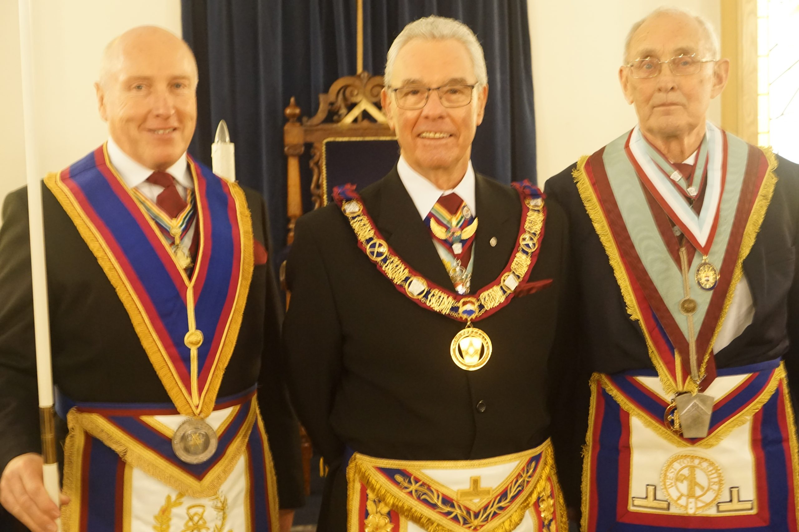 A double header at Legiolium Mark Lodge No. 457, Wednesday 22nd, Jan, 2020