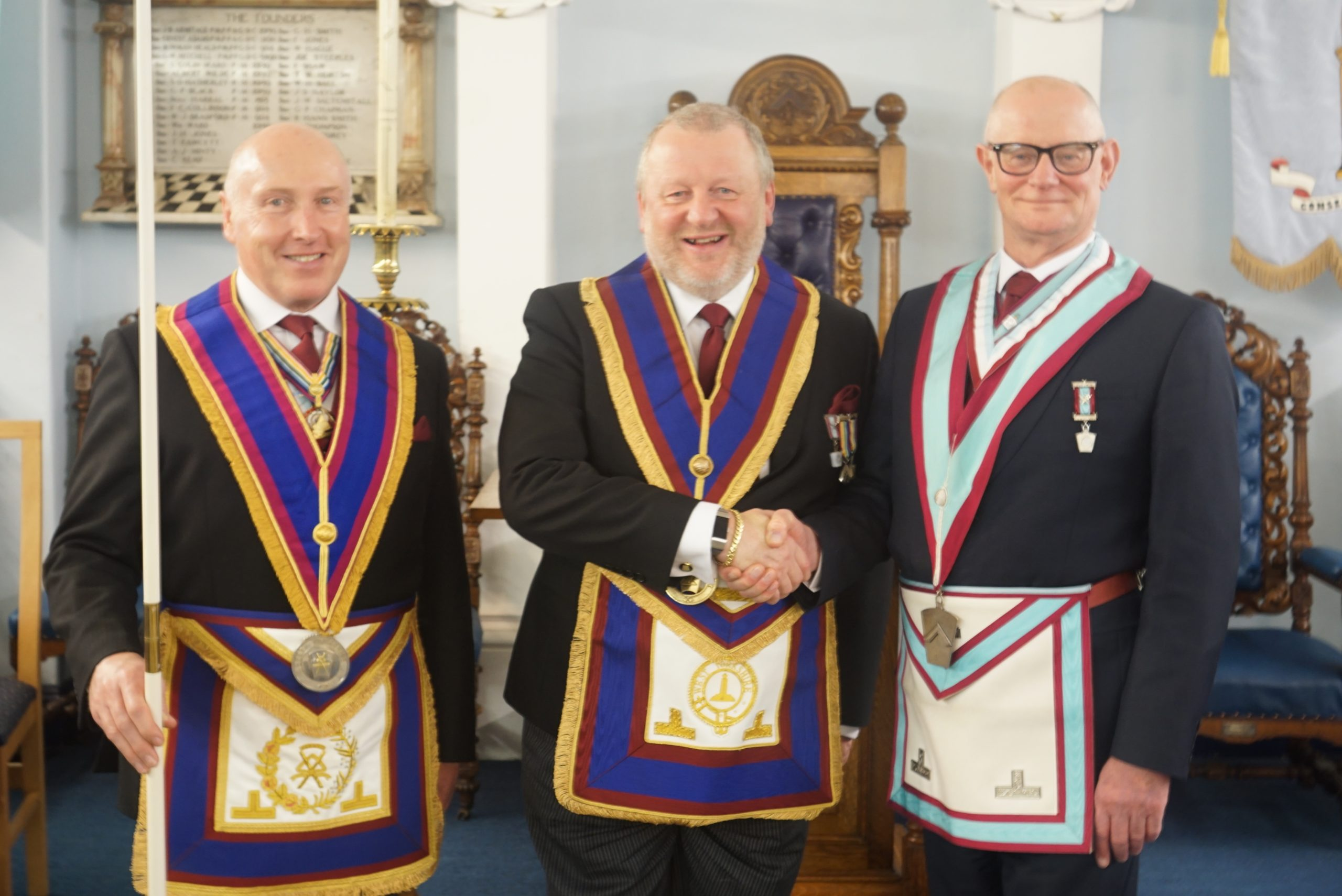 Installation Ceremony for Gothic Lodge of M.M.M. No.1018,Tuesday, 3rd March 2020.