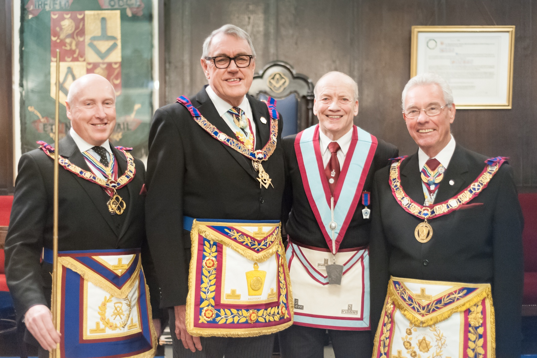 The Magic of the Mark, a celebration at Fearnley Lodge of MMM No, 58.