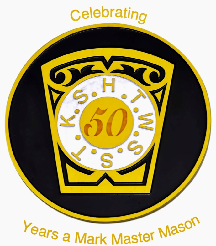 W.Bro. Gilbert Ayodele Jarrett, 50 YEARS a Mark Master Masons.